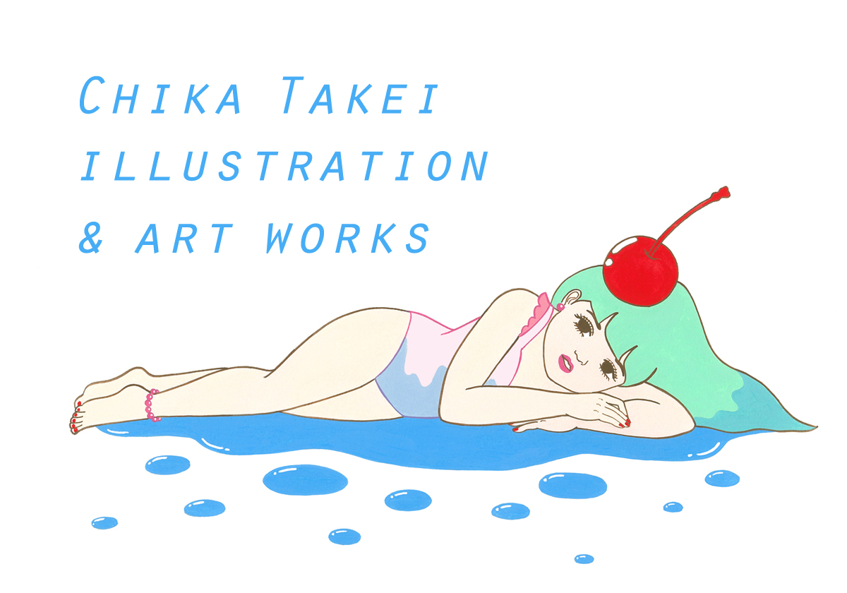 CHIKA TAKEI ILLUSTRATION AND ARTWORKS